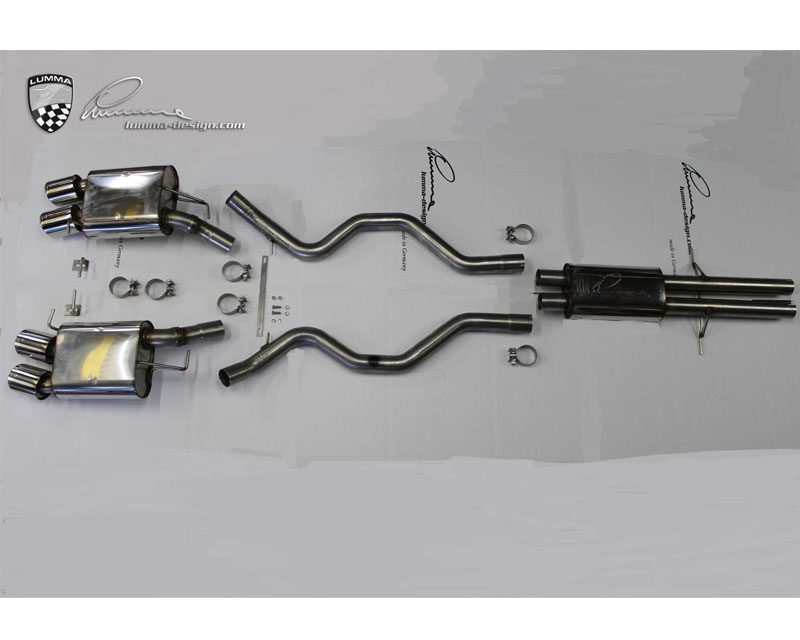 LUMMA CLR-RS Complete Exhaust System for Range Rover Sport 5.0LTR Supercharged 14-15 - RS 008.200.100