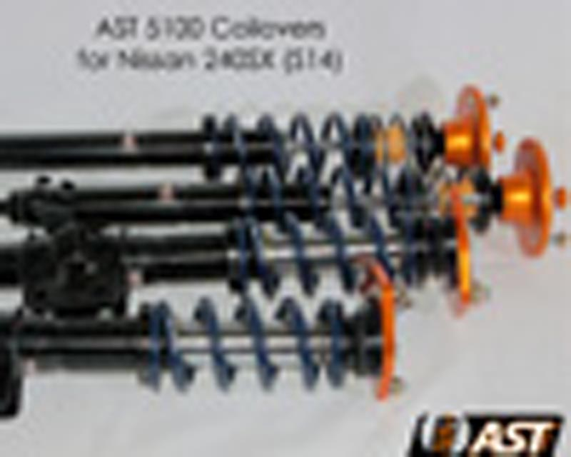 AST 5100 Series Monotube Coilovers w/Springs Nissan 240SX 95-98