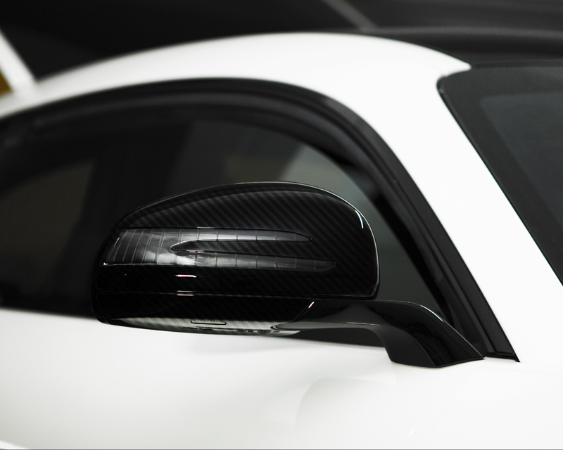 RevoZport GTZ-650 Carbon Mirror Covers Mercedes AMG GTS 15-16