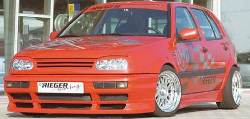 Rieger GTS Front Bumper Volkswagen Golf III 93-99 - R 42010