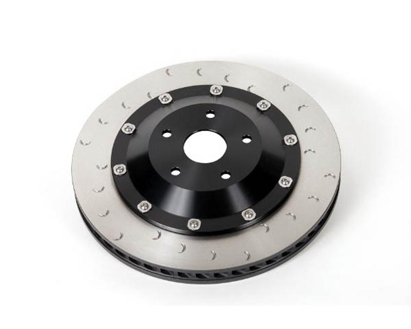 Alcon 385x33mm Right Front Superkit Replacement Rotor & Hat Assembly Nissan GT-R R35 09-18 - DIA2202X013C24R