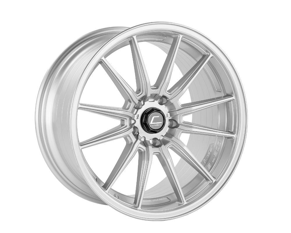 Cosmis Racing R1 Pro Wheel 18x10.5 5x114.3 +32mm Silver - R1PRO-18105-32-5x114.3-S