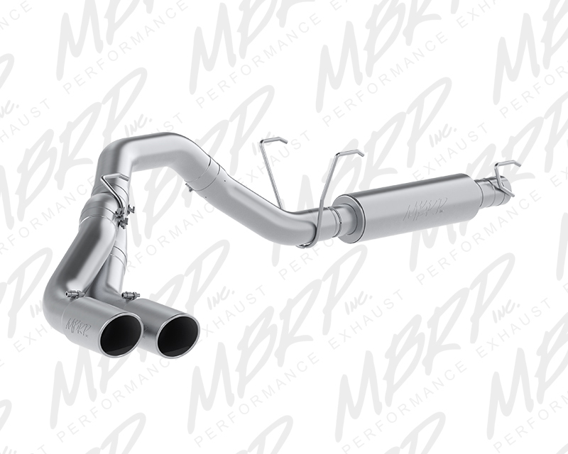 MBRP Installer Series Catback Single Side Dual Outlet Exhaust Dodge Ram 2500 6.4L 14-16