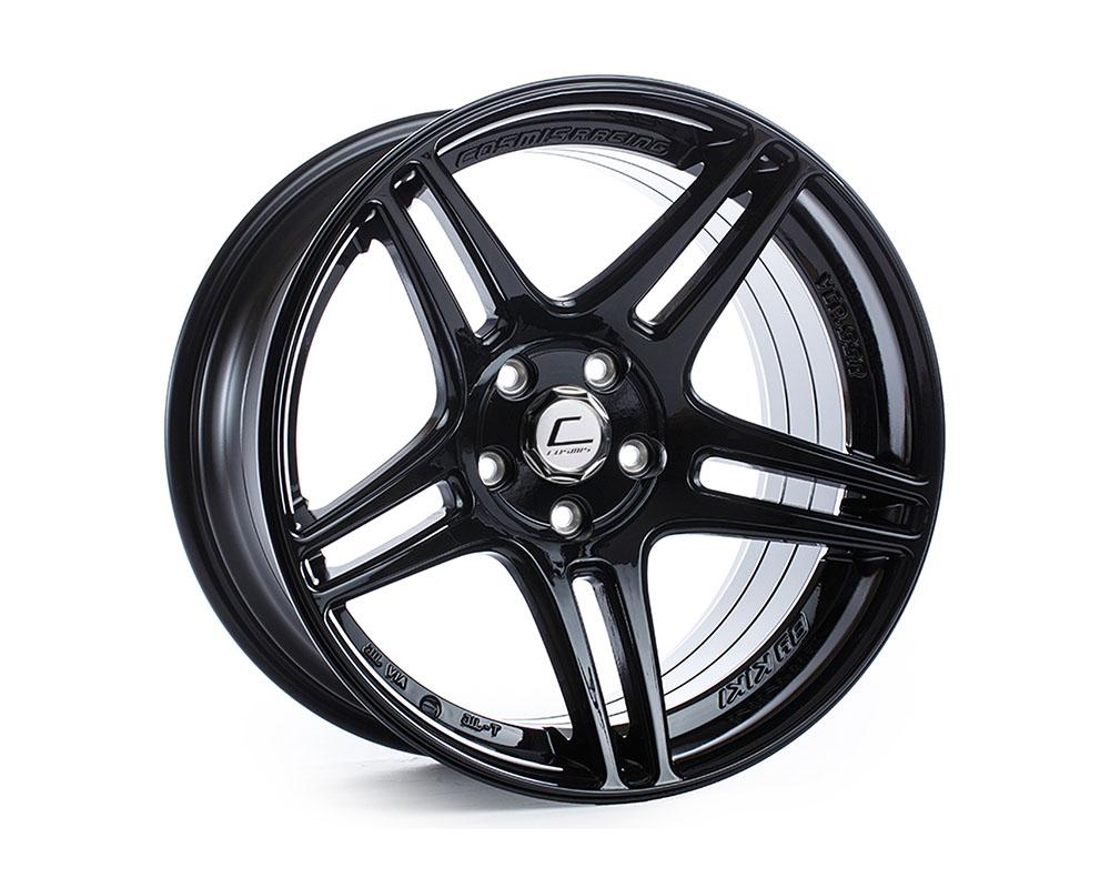 Cosmis Racing S5R Wheel 17x9 5x114.3 +22mm Black - S5R-1790-22-5x114.3-B