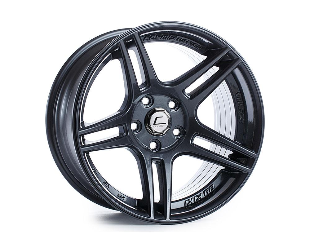 Cosmis Racing S5R Wheel 17x10 5x114.3 +22mm Gun Metal - S5R-1710-22-5x114.3-GM