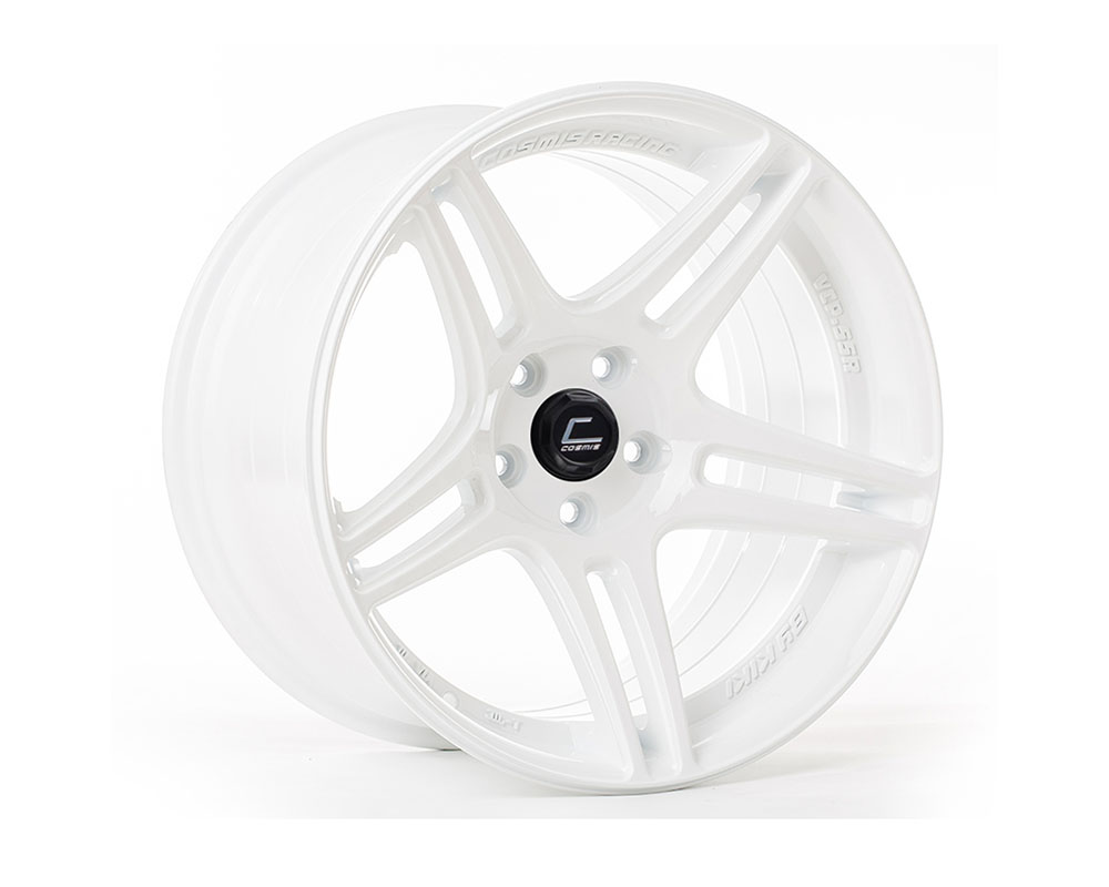 Cosmis Racing S5R Wheel 17x9 5x114.3 +22mm White - S5R-1790-22-5x114.3-W