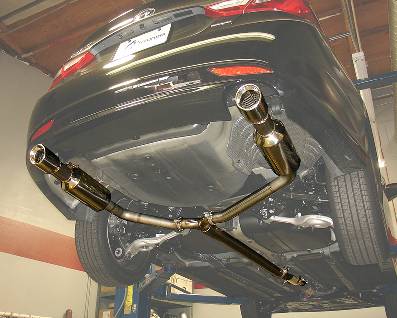 Injen 3 Inch Cat Back with Dual 60mm Mufflers Hyundai Sonata 2.0L Turbo 11-13