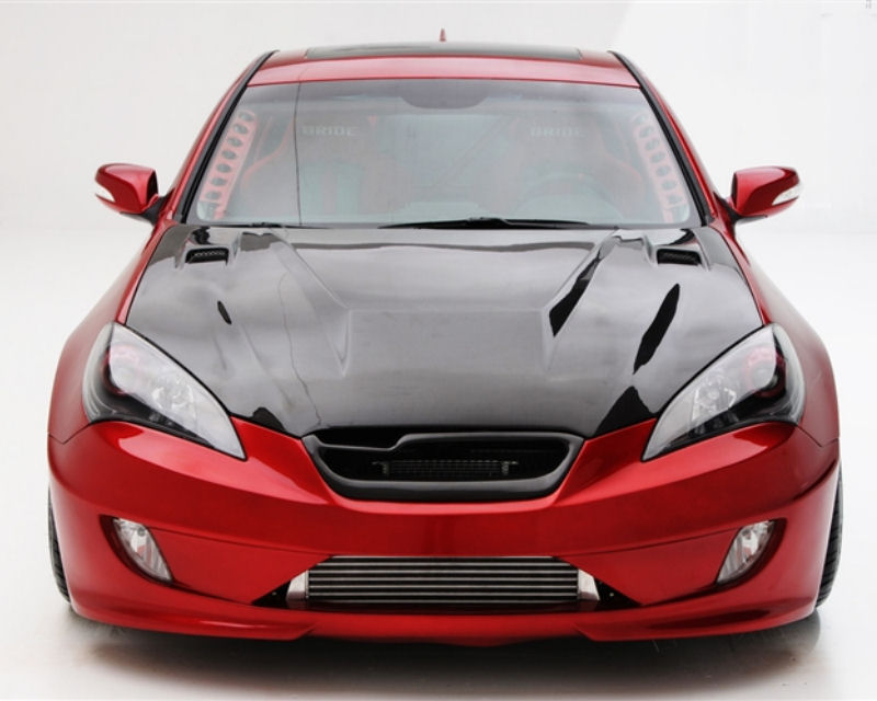 ARK S-FX Fiberglass Side Wide Front Fender Hyundai Genesis Coupe 10-12