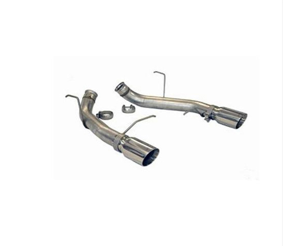 SLP Performance Axle-Back Exhaust Boss 302/2011-12 Gt 500 Loud Mouth with 4-Inch Tips Ford Mustang 11-14