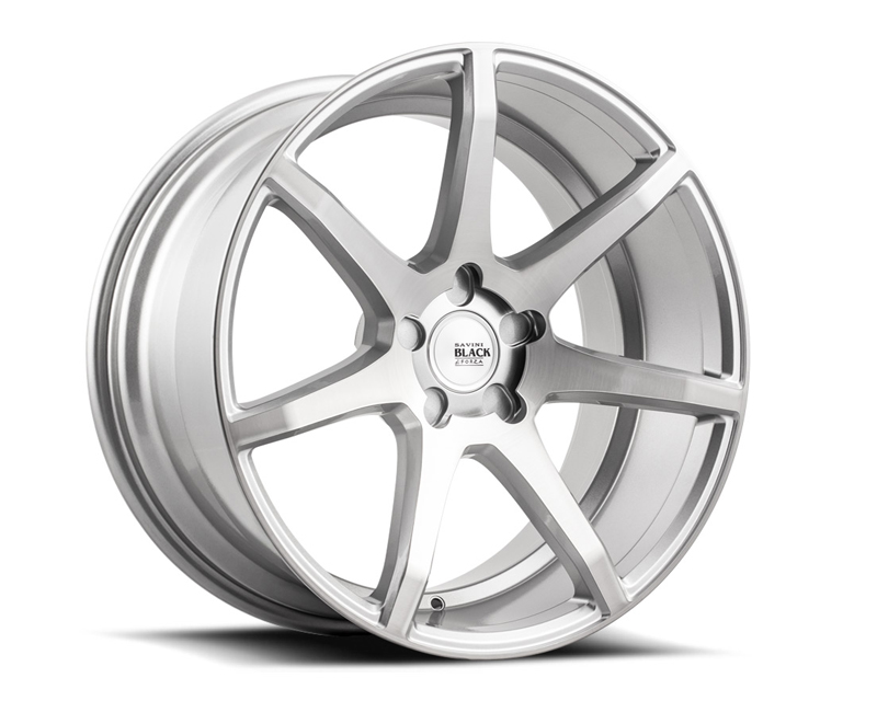 Savini di Forza  Brushed Silver BM10 Wheel 19x8.5 5x114.3 30mm - BM10-19085545R3056