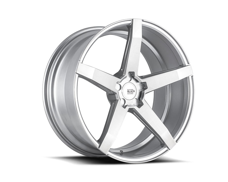 Savini di Forza Brushed Silver BM11 Wheel 19x8.5 5x100 35mm
