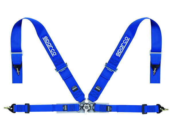 Sparco Competition 4-Point Harness Blue