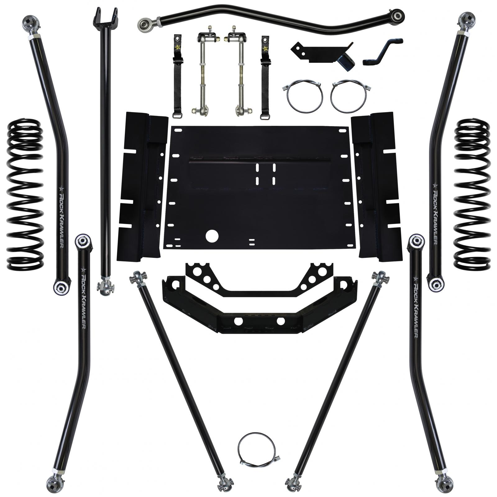 1.5 Inch Front Coil Over Upgrade 07-Pres Wrangler JK Unlimited Rock Krawler