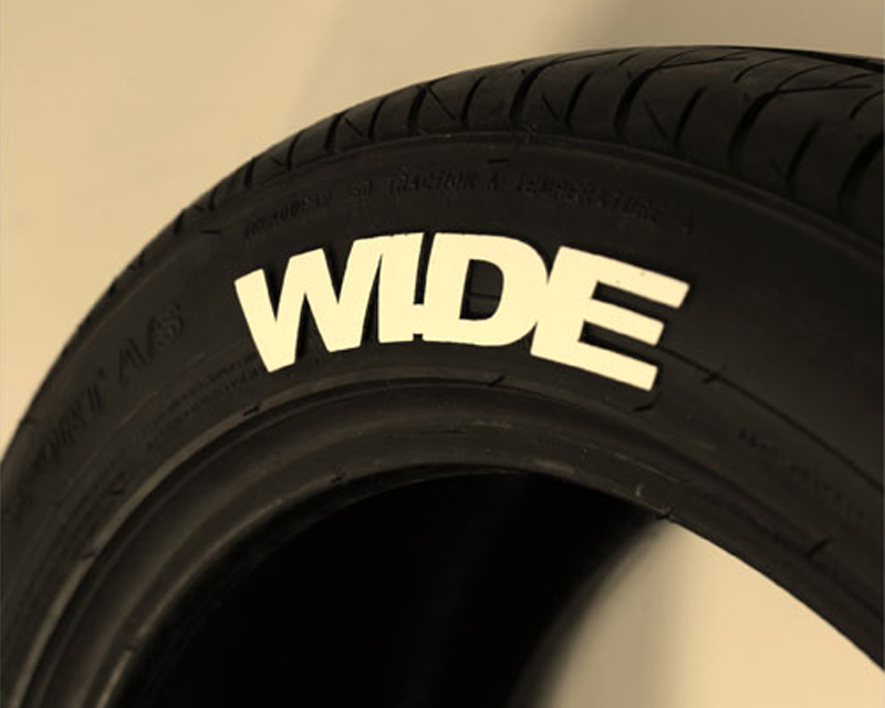 Tred Wear Wide Muscle Tredz Tire Letter Kit - TRW-16205