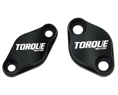 Torque Solution Air Pump Delete Plate Set Subaru WRX STI 02-13
