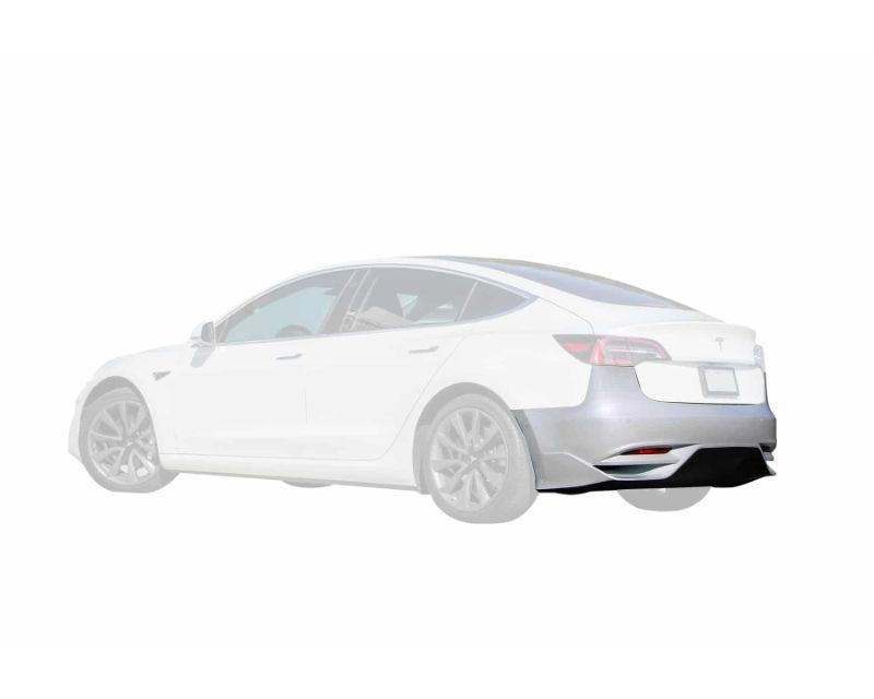 Unplugged Performance Ascension Rear Bumper Gloss Prepreg Carbon Fiber Tesla Model 3 - UP-REARFASC-GCAR-T3