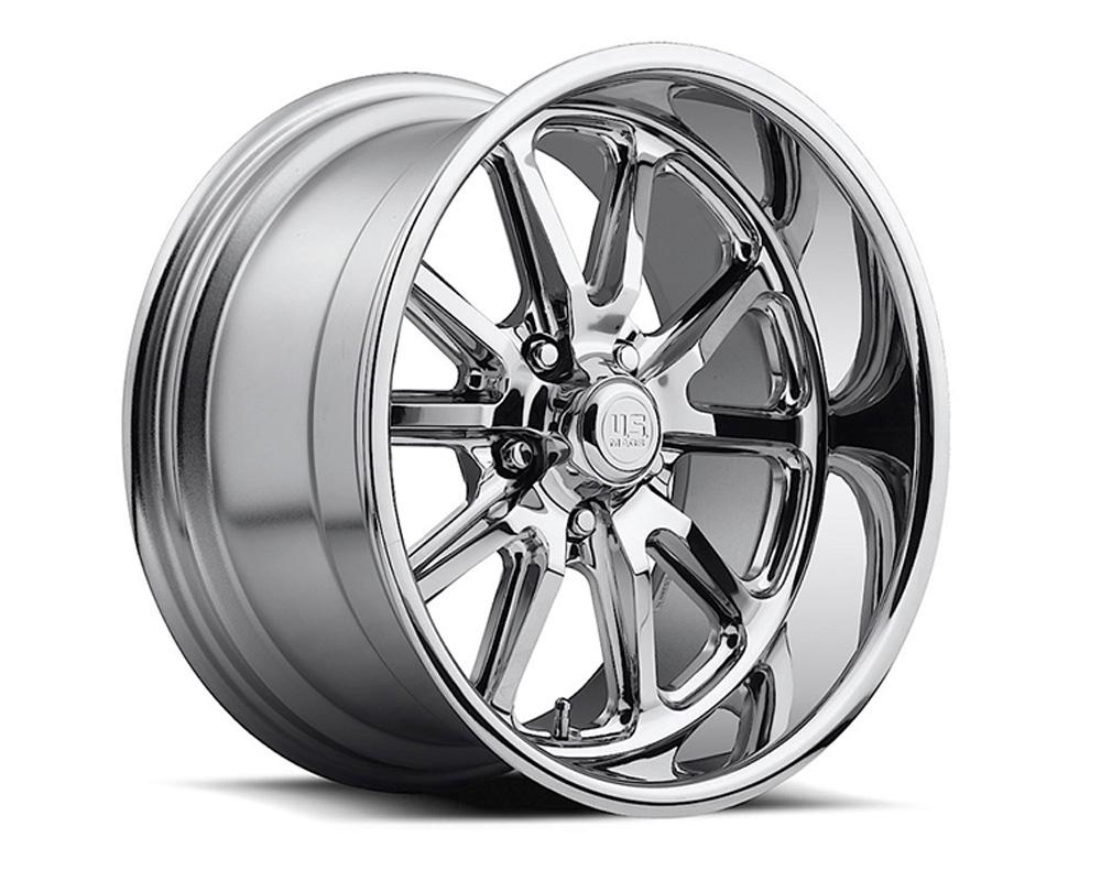 US Mags U110 Rambler Chrome 1-Piece Cast Wheel 20x8.5 5x114.3 32mm - U110208565+32