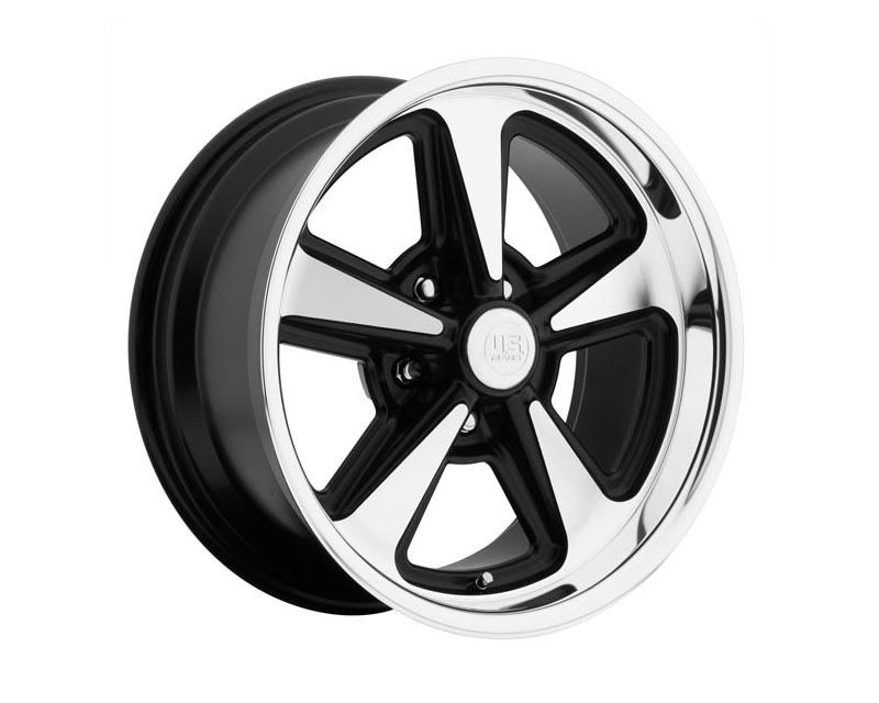 US Mags U109 Bandit Wheel 17x8 5X4.5 1mm Matte Black Machined - U10917806545