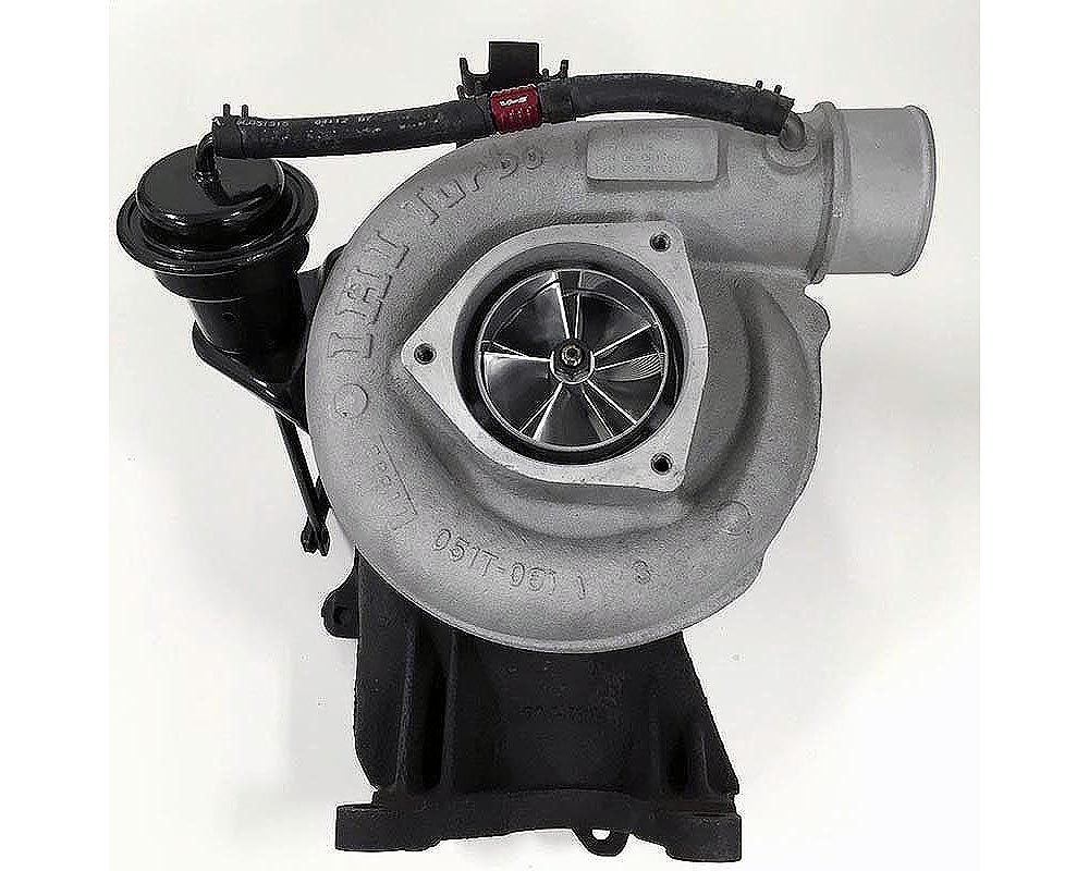 Wold Fab Quantum-Max 64MM LB7 Remanufactured Turbo Candy Teal Chevrolet Silverado 2500/3500 | GMC Sierra 2500/3500 2001-2004 - WF-64104MB-CT