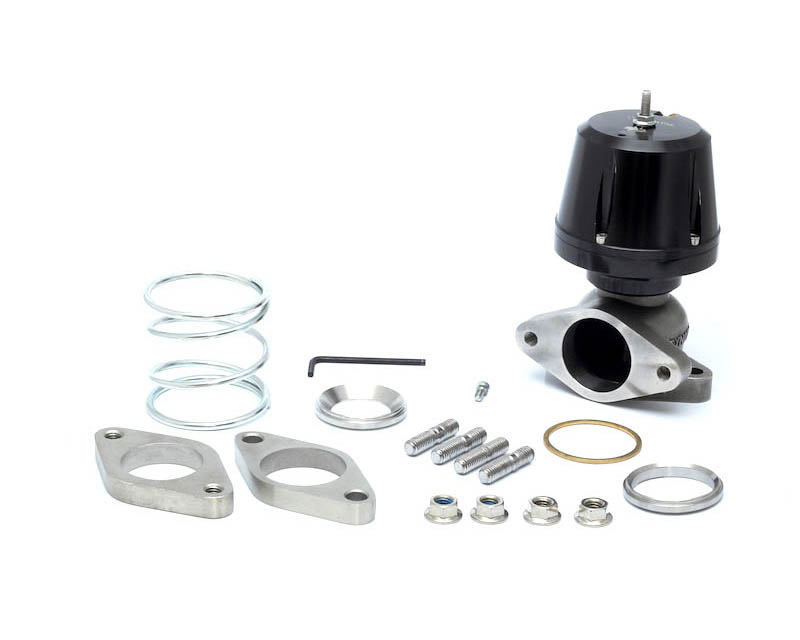 Synapse Engineering Synchronic Black Wastegate 40mm w/ Flanges