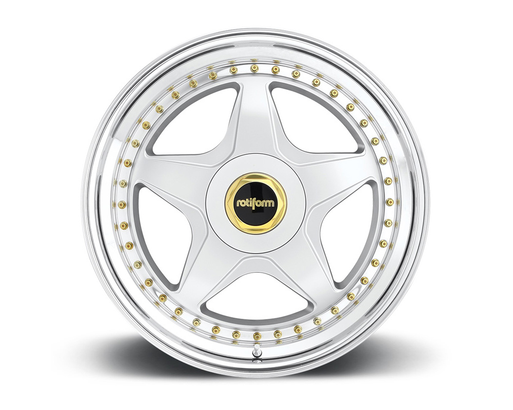 Rotiform WRO 3-Piece Forged Deep Concave Center Wheels - WRO-3PCFORGED-DEEP