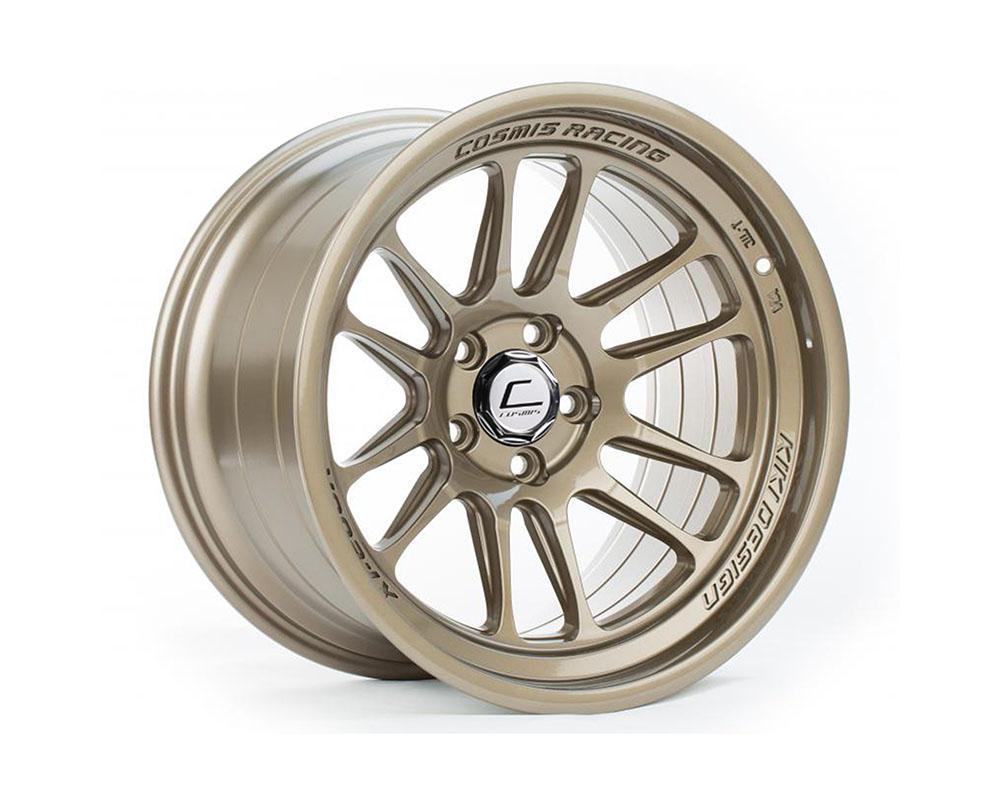 Cosmis Racing XT-206R Wheel 18x9.5 5x114.3 +10mm Bronze - XT206R-1895-10-5x114.3-BR