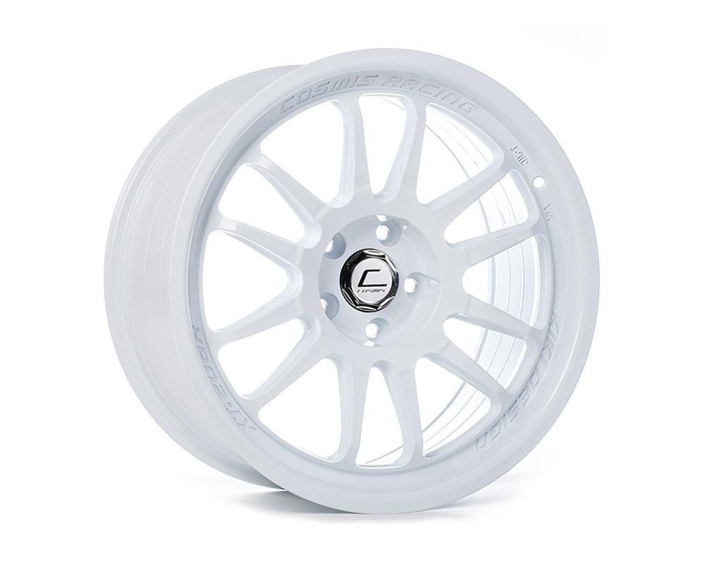 Cosmis Racing XT-206R Wheel 17x8 5x114.3 +30mm White - XT206R-1780-30-5x114.3-W