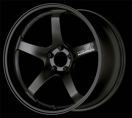 Advan GT Premium Wheel Porsche 18x11 5x130 40mm Racing Titanium Black - YAQ8M40PTBKP