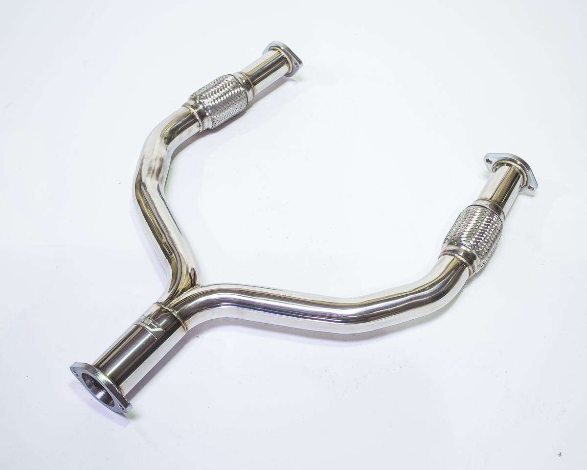 Agency Power Stainless Steel Y-Pipe Nissan 370z 09-18