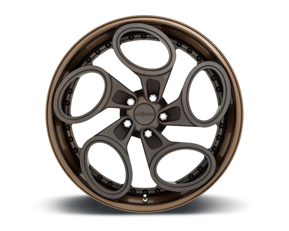 Rotiform ZRH-T 3-Piece Forged Concave Center Wheels - ZRHT-3PCFORGED-CONCAVE