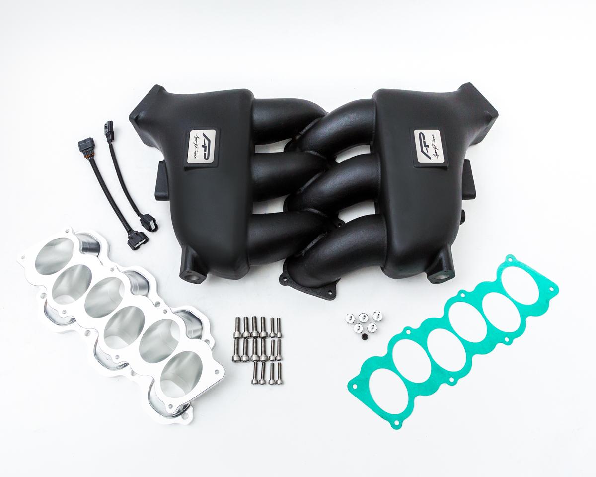 Agency Power Intake Manifold Black Nissan GT-R - AP-GTR-183-BLK