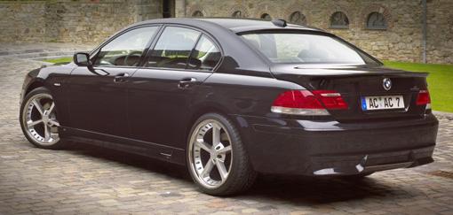 AC Schnitzer Add-on Rear Spoiler for OE Muffler BMW 7 Series E65 06-08 - AC-511265140