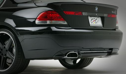 AC Schnitzer Add-on Rear Spoiler for ACS Muffler BMW 7 Series E65 02-05 - AC-511265110