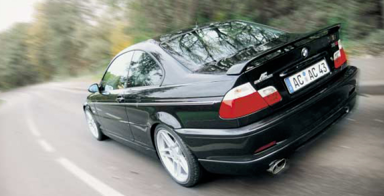 AC Schnitzer Rear Wing BMW E46 M3 Coupe 01-06 - AC-516246320