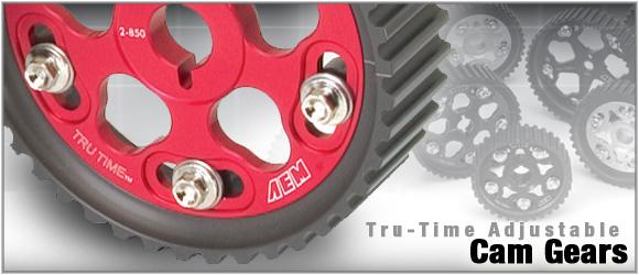 AEM Tru-Time Cam Gears Honda Civic D16 96-00 - 23-804BK