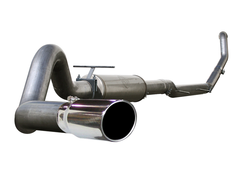 aFe Aluminum Turboback Exhaust Dodge Ram Cummins 1500 5.9L 04.5-07