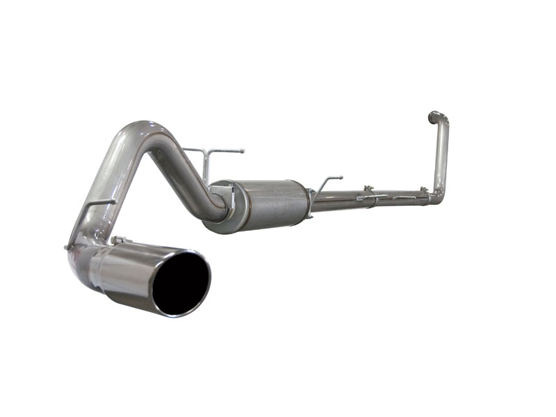aFe Stainless Steel Turboback Off-Road Exhaust Ford F-250 6.0L V8 Power Stroke 03-07 - 49-43004