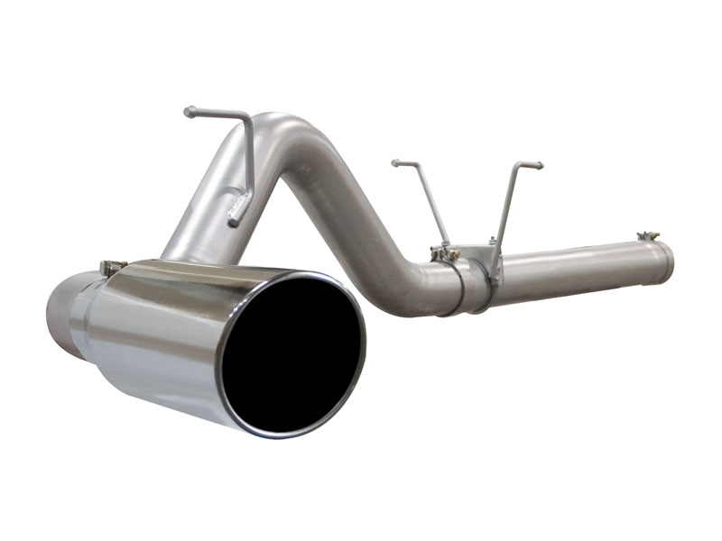 aFe Stainless Steel DPF-back Exhaust Ford F-350 6.4L V8 Power Stroke 08-10