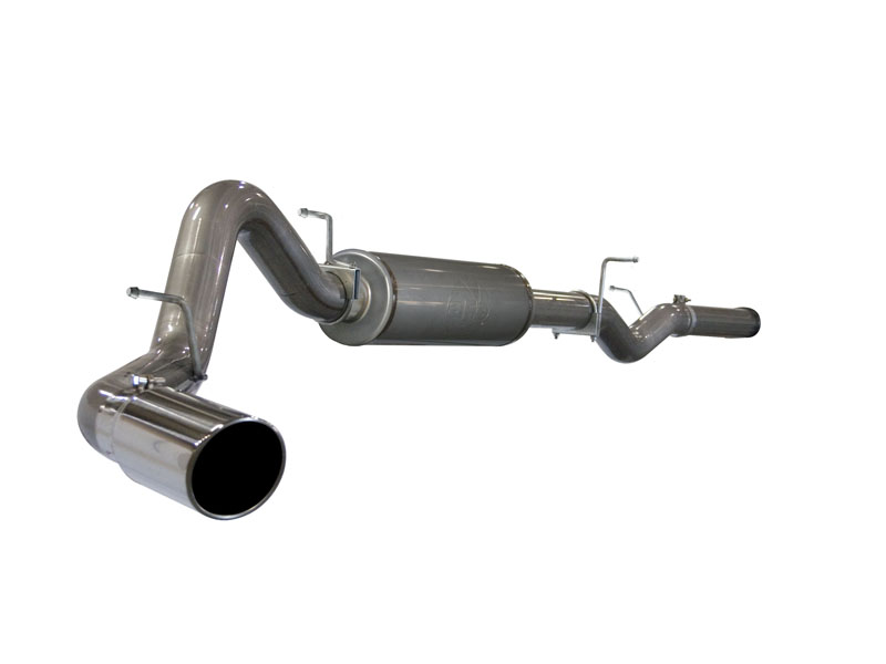 aFe Stainless Steel Catback Exhaust GMC Sierra 3500 HD Duramax 6.6L V8 01-05 - 49-44001