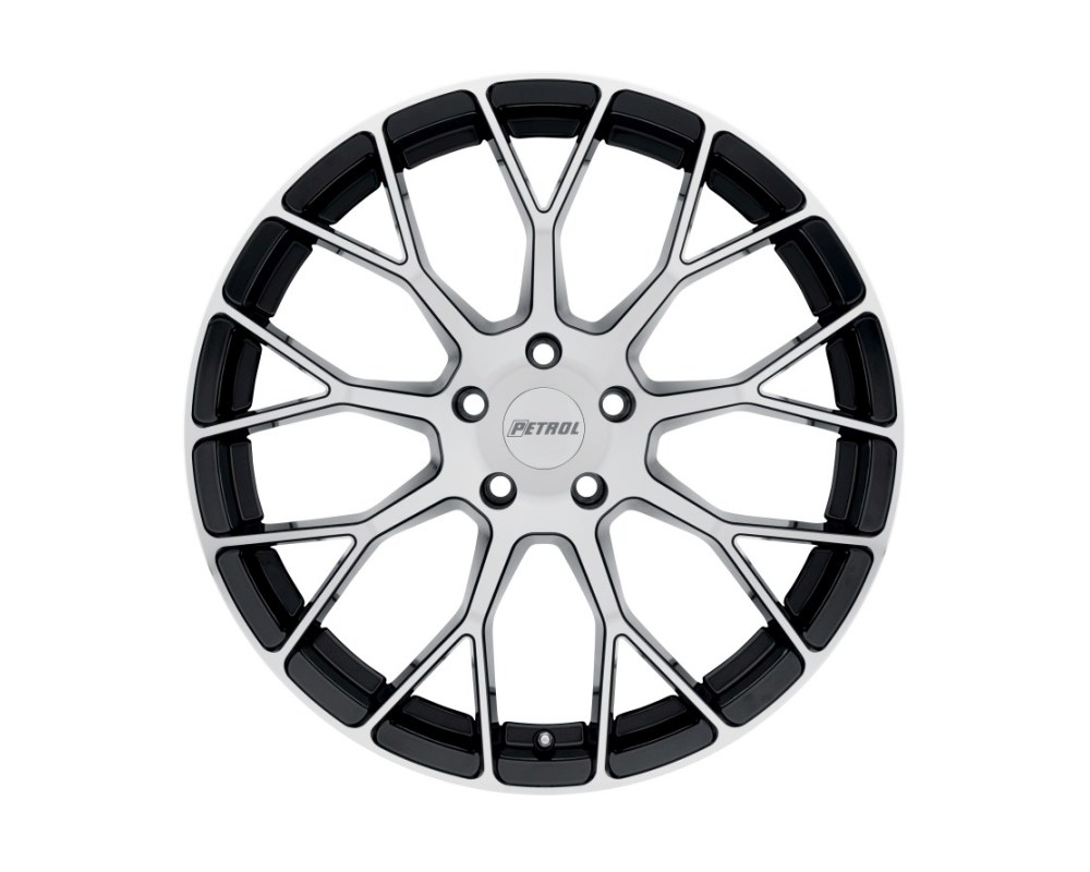 Petrol P2B Wheel 15x7 4x114.3|4x4.5 40mm Gloss Black w/ Machined Face - 1570P2B404114F72