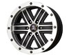 American Outlaw Curse 17X9  6x135  -6mm Black Machined Face