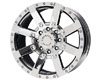 American Outlaw TNT 17X8.5  5x114.3  16mm Chrome
