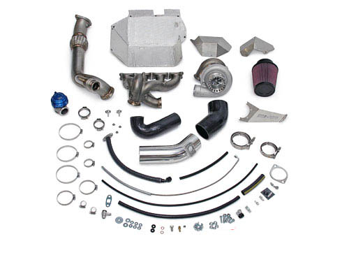 AMS Performance 950XP Billet V Band Turbo Kit with Vented Wastegate Provision Mitsubishi Evolution X 08-14