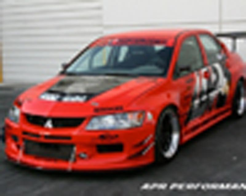 APR EVIL-R Wide Body Kit Mitsubishi EVO IX 06-07