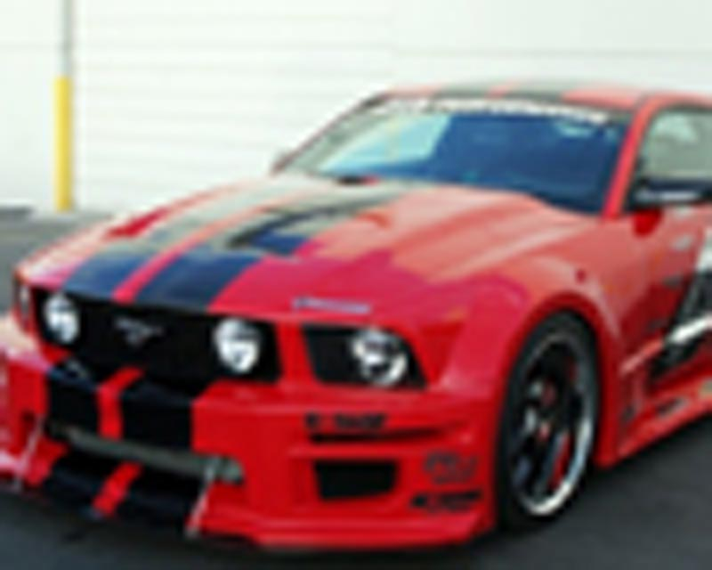 APR Wide Body Kit Ford Mustang Shelby GT500 06-09