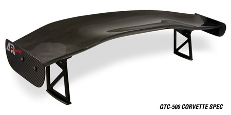 APR GTC-500 Adjustable Wing Chevrolet Corvette C6 ALL 05-13 - AS-107056