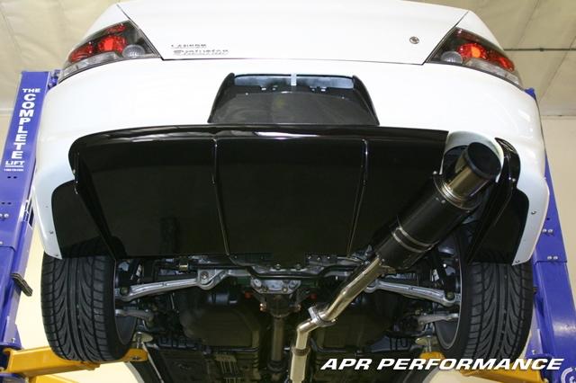 APR Carbon Fiber Rear Diffuser Mitsubishi EVO VIII IX 03-07 - AB-485019