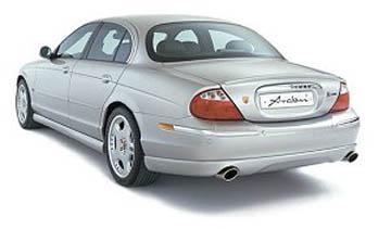 Arden Dual Exhaust System Jaguar S-Type V8 4.2L - JA100515