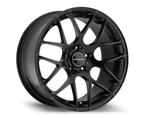 Avant Garde M310 Wheel 18X9 5X112 48mm Flat Black | Machined