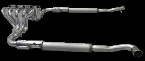 Belanger Complete Catback Exhaust and Header System Dodge Viper 08-10 - BEL-VPR-08-CES
